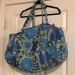 Large Vera Bradley duffle! bundle both bags& save